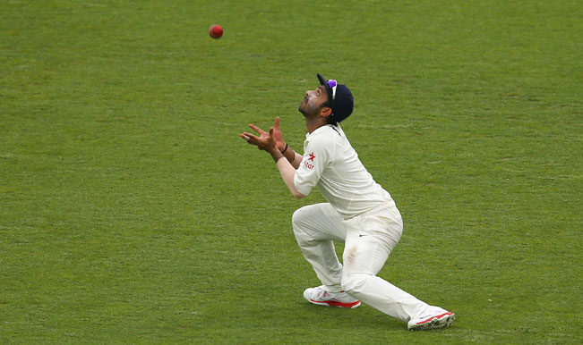 ajinkya-rahane-of-india-drops-a-catch-as-shaun-marsh4