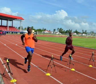 Sherwin Johnson on track_Referees Fitness Test (Mar2017)