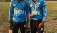 Kelvin Shewprasad and Nicholas Chinkoo